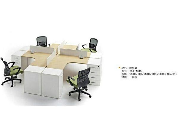 板式办公桌BY-15
