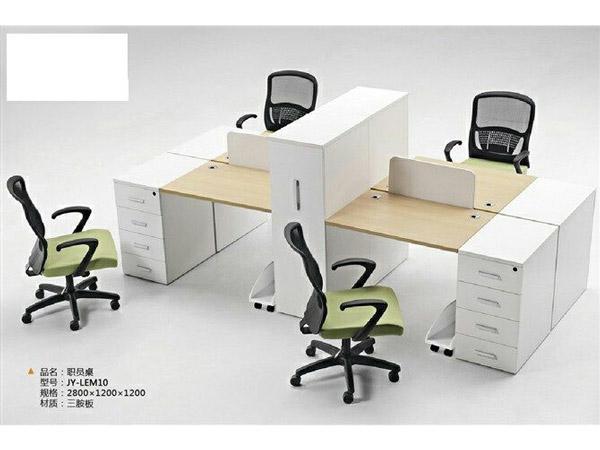 板式办公桌BY-16