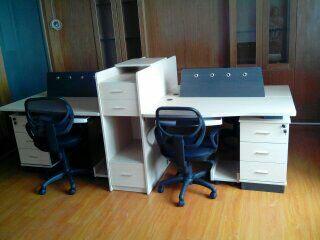 板式办公桌BY-14