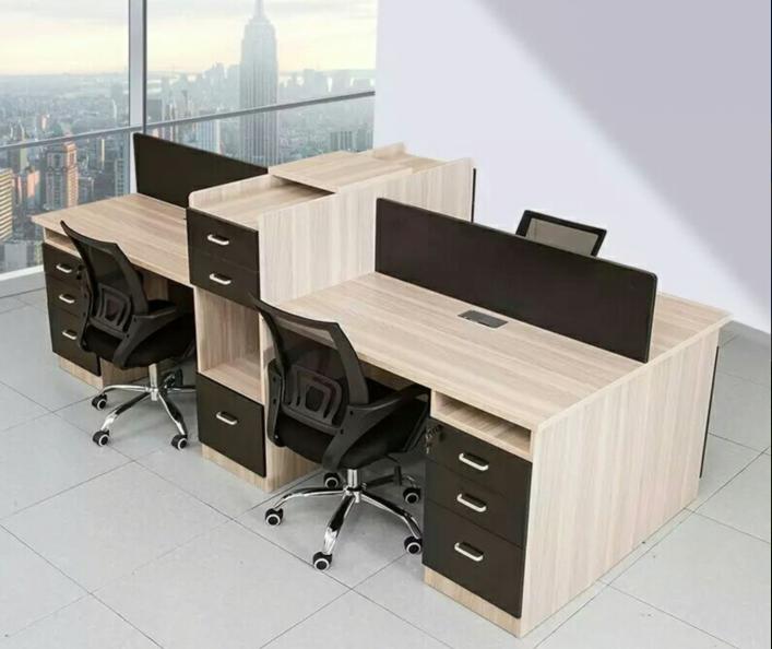 板式办公桌BY-12