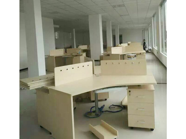 板式办公桌BY-11