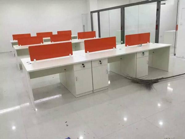 板式办公桌BY-08