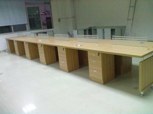 板式办公桌BY-07