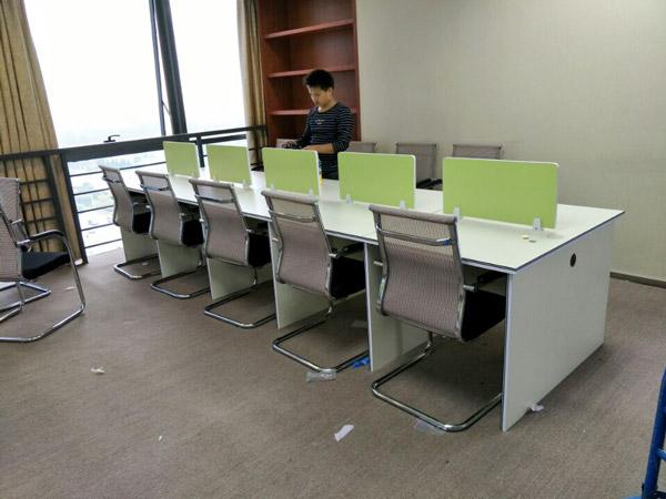 板式办公桌BY-06