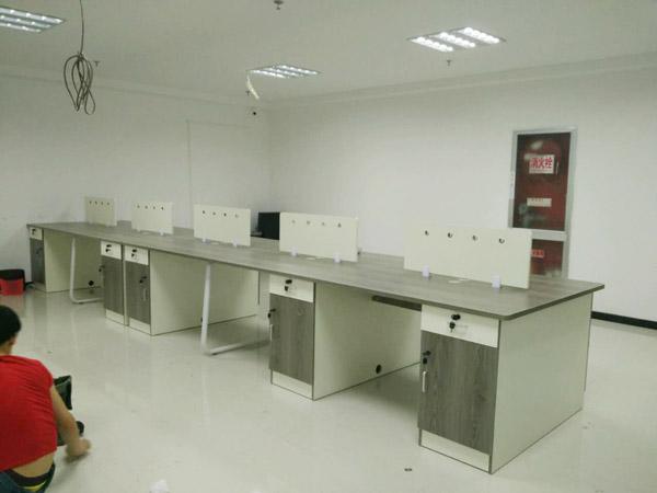 板式办公桌BY-05
